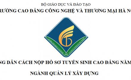 Nộp hồ sơ ĐKXT ngành Quản lý xây dựng