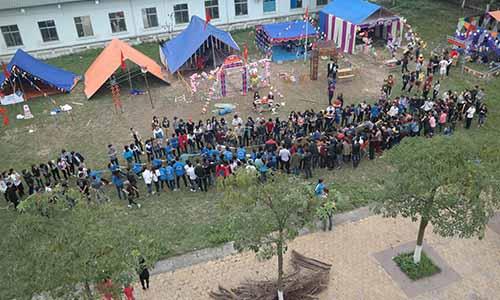 Căm trại mừng ngày thành lập Đoàn tại trường Cao đẳng Công nghệ và Thương mại Hà Nội