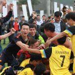 Kết quả giải bóng đá Sinh viên Thủ đô lần I năm 2016
