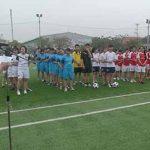 Lễ khai mạc Giải bóng đá nữ sinh viên HTT