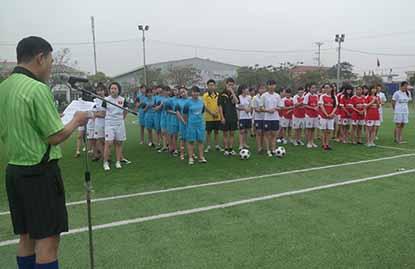 Vòng chung kết và Lễ  bế mạc giải bóng đá nữ sinh viên HTT