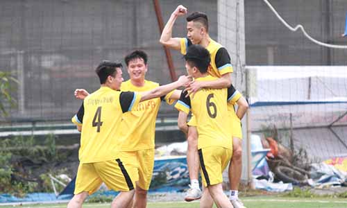 Đội bóng đá nam trường Cao đẳng Công nghệ và Thương mại Hà Nội tại giải đấu