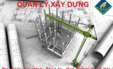 Ngành Quản lý xây dựng