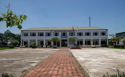 Tòa nhà đào tạo quốc tế