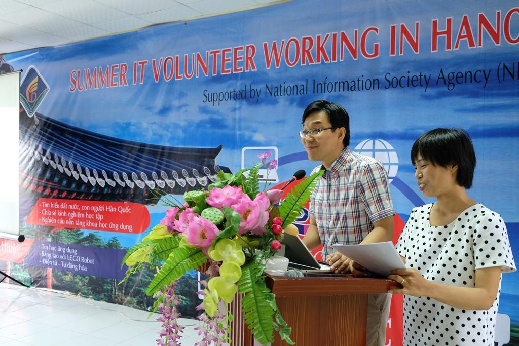 Ông LYU JE HEON gửi lời cảm ơn sâu sắc đến Ban lãnh đạo và đội ngũ cán bộ, giáo viên trường Cao đẳng Công nghệ và Thương mại Hà Nội