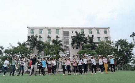 Sinh viên Hàn Quốc giao lưu với sinh viên HTT