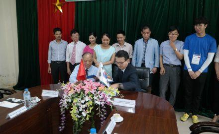 Hiệu trưởng 2 trường ký thỏa thuận hợp tác