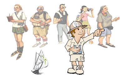 Sinh viên ngành Hướng dẫn viên du lịch tại HTT có thể đảm nhận nhiều vị trí khác nhau sau khi tốt nghiệp
