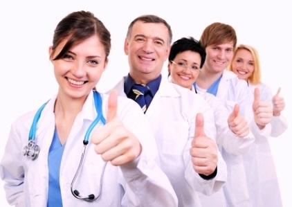 Khối chăm sóc sức khỏe luôn là khối ngành thu hút nhiều sinh viên tại HTT