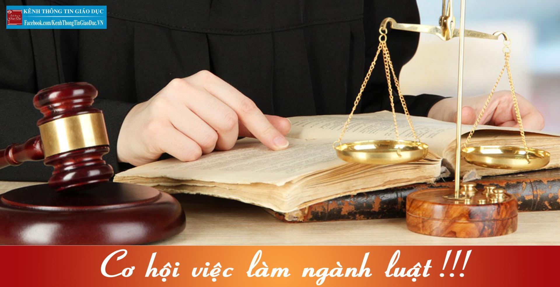 Ngành Luật – Tương lai rộng mở trong xu thế toàn cầu hóa