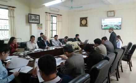 Hội nghị triển khai điều chỉnh chương trình đào tạo