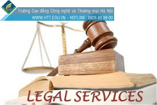 cao đẳng dịch vụ pháp lý, cao đẳng luật