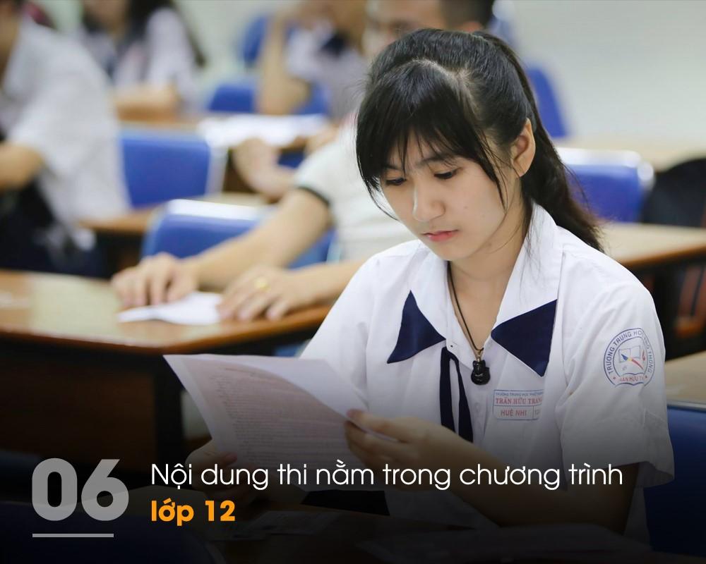 Tỉ lệ câu hỏi khó và dễ trong đề thi THPT Quốc gia 2017