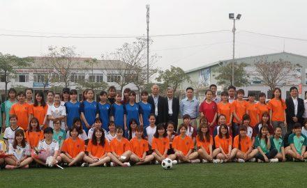 Khai mạc giải bóng đá Nữ sinh viên lần thứ 5 năm học 2016 – 2017
