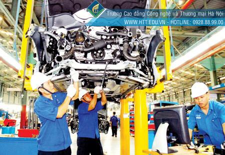 ngành công nghệ ô tô