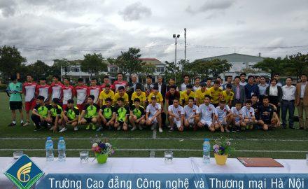 Khai mạc giải bóng đá Nam sinh viên lần thứ 6 năm học 2017 – 2018