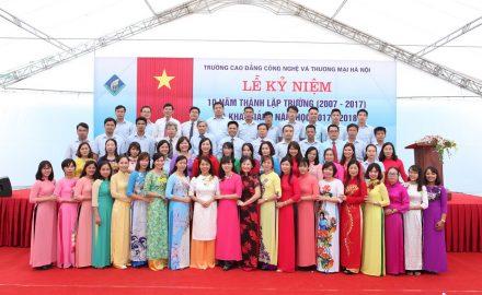 Lễ Khai giảng năm học 2017 – 2018 và kỷ niệm 10 năm thành lập Trường (2007 – 2017)