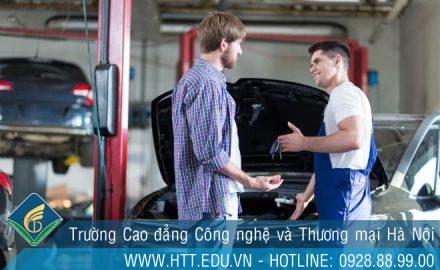 Học sửa chữa ô tô không chỉ đam mê mà còn phải  tâm huyết với nghề
