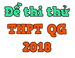 Tiếng Trung-Đề thi tham khảo THPT Quốc Gia 2018