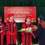 Lễ bế giảng và trao bằng tốt nghiệp cho sinh viên khóa 8 (2015 – 2018)