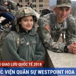 Chương trình Giao lưu Quốc tế với Học viện Quân sự Westpoint Hoa Kỳ 2018