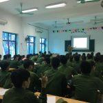 Những bài học đầu tiên của tân sinh viên Khóa 11