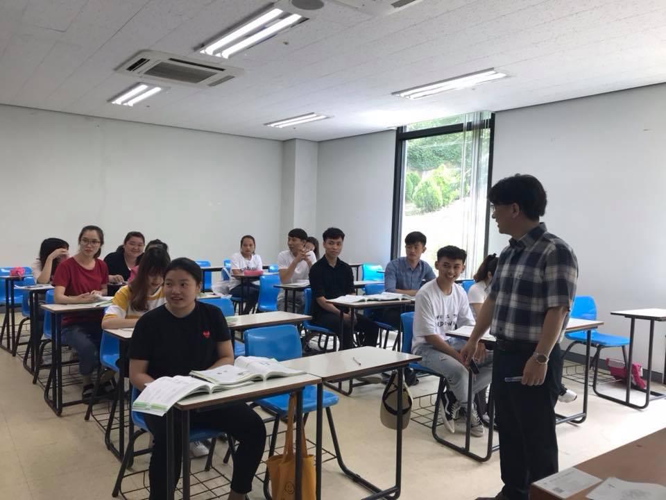 Hình ảnh các du học sinh Việt Nam tại Hàn Quốc
