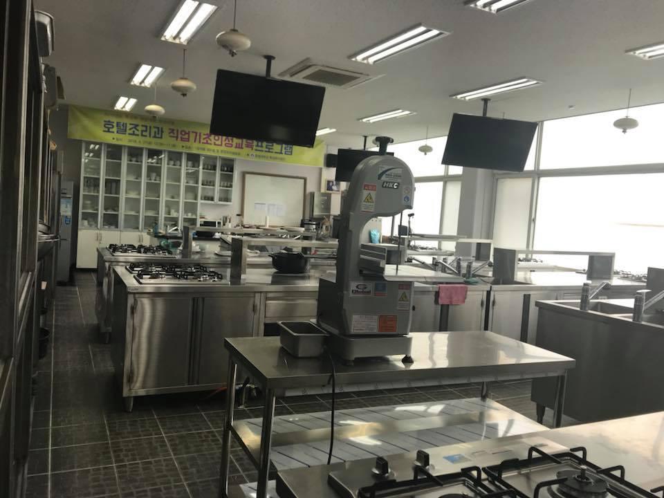 Phòng Thực hành ngành Quản trị chế biến món ăn