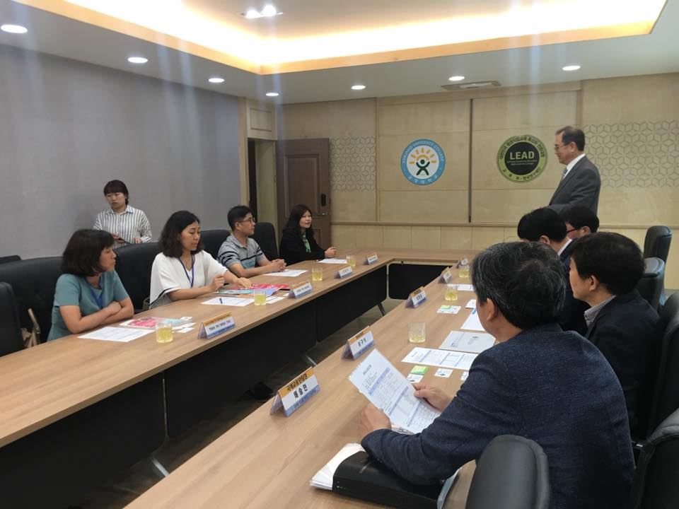Đoàn Công tác làm việc tại Hàn Quốc
