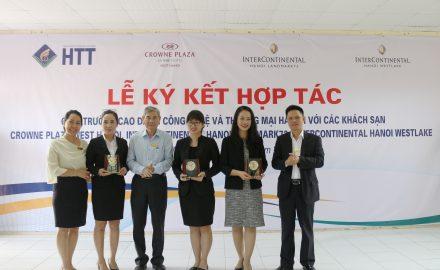 Lễ kí kết hợp tác giữa HTT và tập đoàn khách sạn đa quốc gia IHG