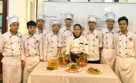 Học nghề đầu bếp, ngành chế biến món ăn ở đâu tốt nhất ?