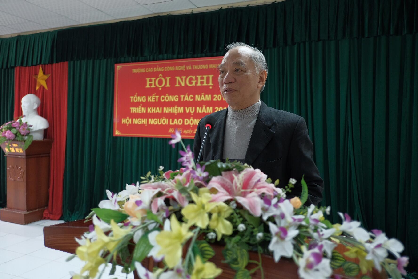 TS. Đoàn Xuân Viên - Phó chủ tịch thường trực Hội đồng QT phát biểu chỉ đạo
