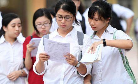 Nội dung thi và quy chế tổ chức thi THPT quốc gia 2019