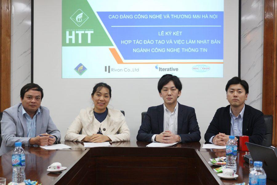 Lễ ký kết hợp tác đào tạo và việc làm ngành công nghệ thông tin