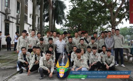 Khoa Công Nghệ Ô Tô giành vị trí 27/190 toàn quốc trong cuộc thi Xe sinh thái Honda Vietnam 2019