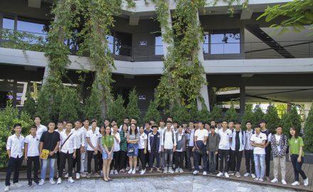 Sinh viên khoa Công nghệ thông tin thăm và học hỏi tại Công ty Phần mềm FPT Software