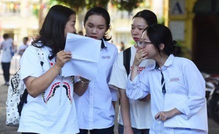 Đề thi tham khảo kỳ thi tốt nghiệp THPT 2020 của Bộ giáo dục đào tạo công bố