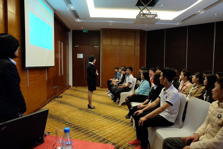 Sinh viên quản trị kinh doanh khách sạn tại HTT được thực hành nghề nghiệp tại các khách sạn 5*