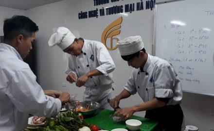 Kỹ năng ngành chế biến món ăn