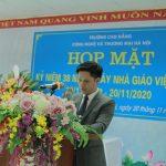 Lễ mít tinh kỉ niệm 38 năm ngày nhà giáo Việt Nam 20/11