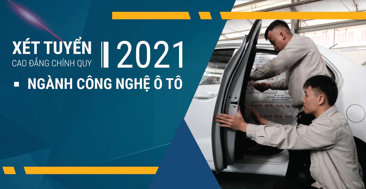Ngành Công nghệ Ô-tô – Tuyển sinh Cao đẳng chính quy 2021