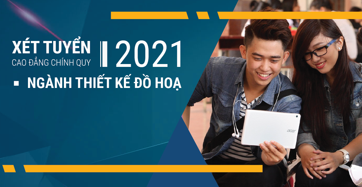 Ngành Thiết Kế Đồ Hoạ – Tuyển sinh Cao đẳng chính quy 2021