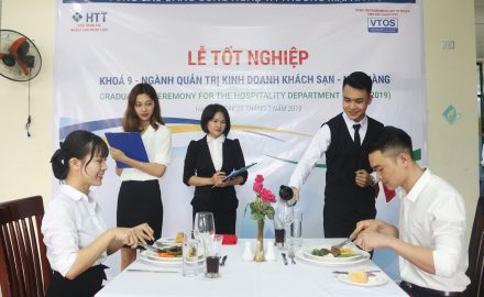 Lễ tốt nghiệp Khóa 9 ngành Quản trị kinh doanh Khách sạn – Nhà hàng và Quản trị chế biến món ăn