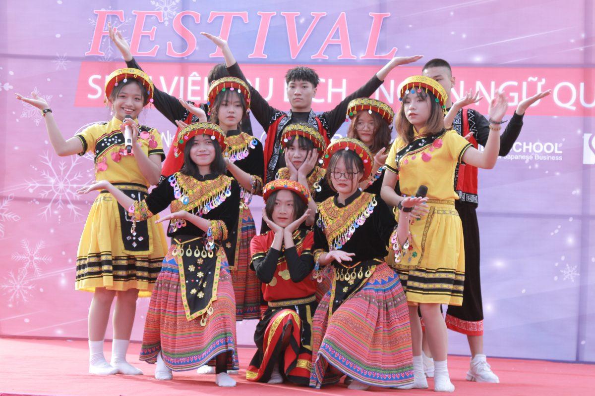 Festival sinh viên Du lịch-Ngôn ngữ quốc tế