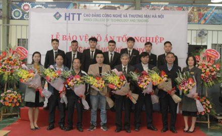 Lễ bảo vệ đồ án tốt nghiệp Khoa Công nghệ ô tô – Khóa 11