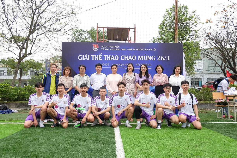 Khai mạc giải bóng đá Nam sinh viên lần thứ 8 năm học 2020-2021