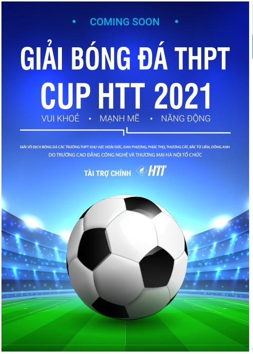 GIẢI BÓNG ĐÁ THPT CUP HTT 2021