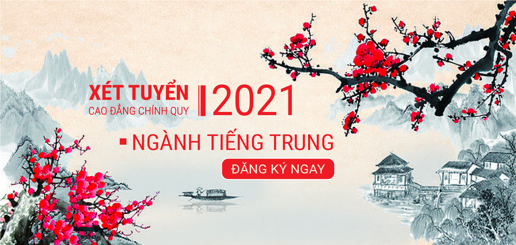 Tuyển Sinh Cao Đẳng Chính Quy Ngành Tiếng Trung Năm 2021