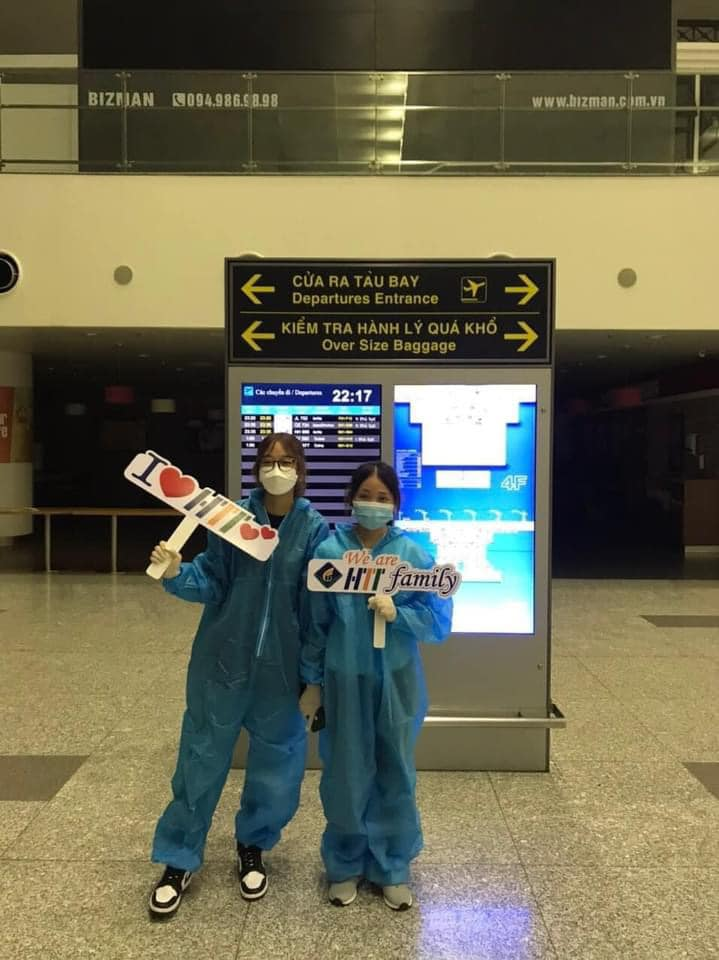 Chương trình trao đổi sinh viên với ĐH Dongshin - Hàn Quốc: Hai sinh viên Khoa Ngôn ngữ quốc tế HTT đủ điều kiện tham gia chương trình và bay sang Hàn Quốc