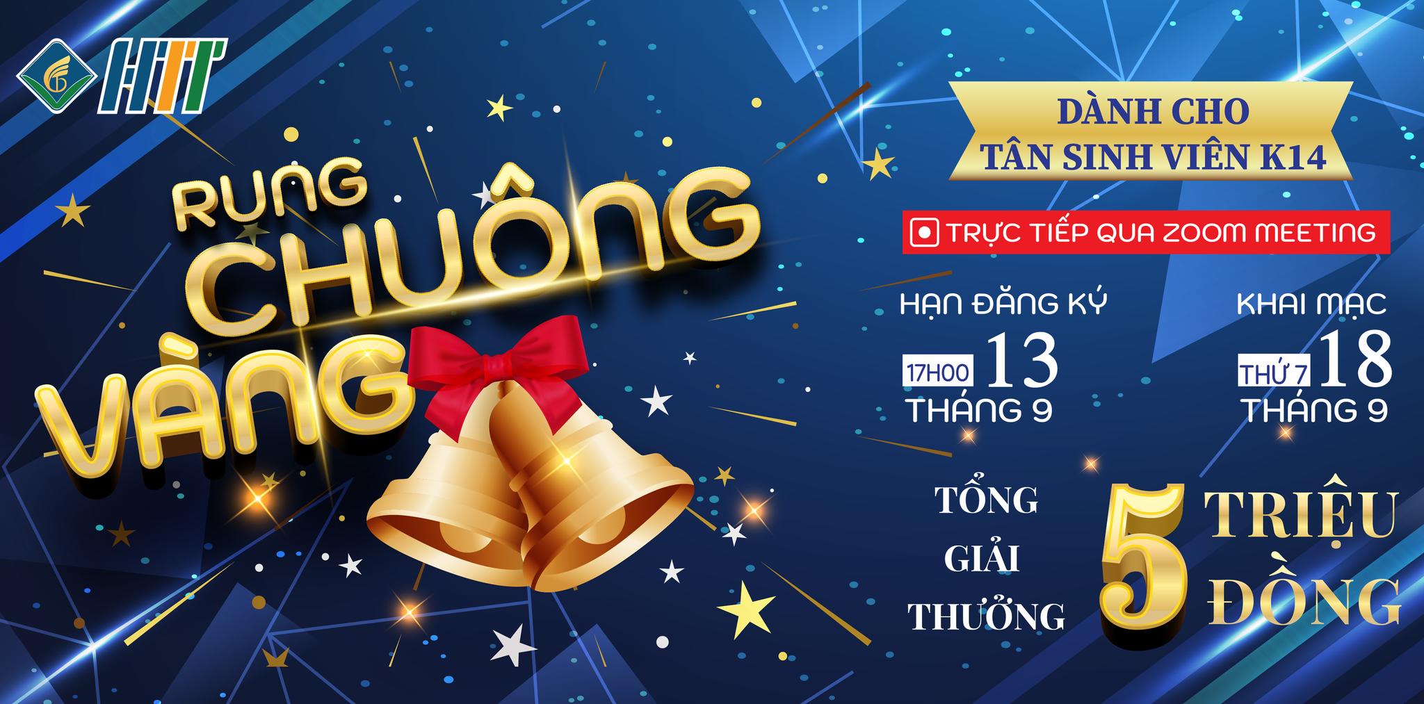 """Cuộc Thi """"Rung Chuông Vàng Online"""" Đầu Khóa 2021"""